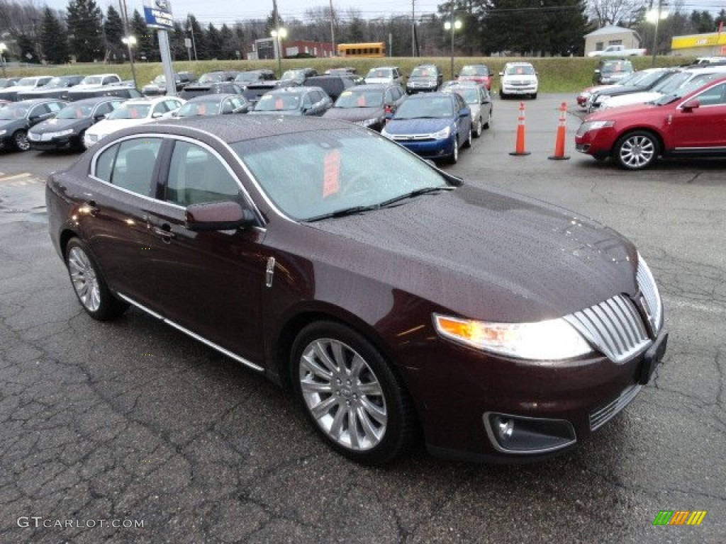 cinnamon metallic 2009 lincoln mks sedan exterior photo 60521760. Black Bedroom Furniture Sets. Home Design Ideas