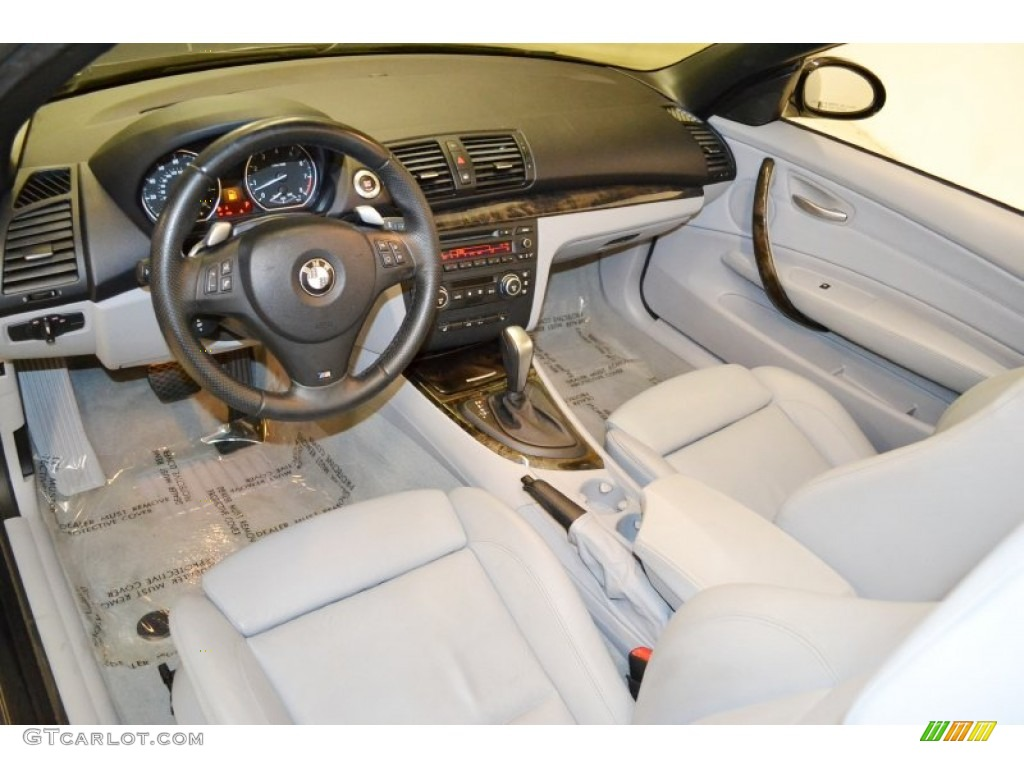 Grey Interior 2008 Bmw 1 Series 135i Convertible Photo 60528835