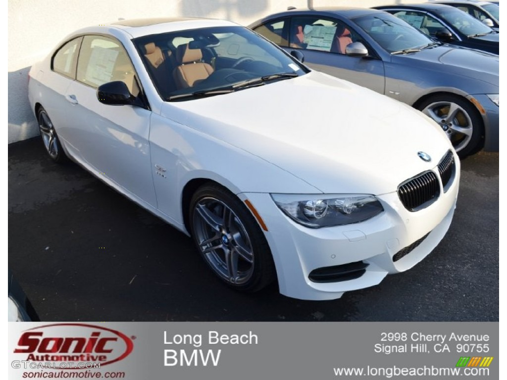 Alpine White Bmw 3 Series 335is Coupe