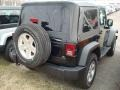 2012 Black Forest Green Pearl Jeep Wrangler Sport S 4x4  photo #2