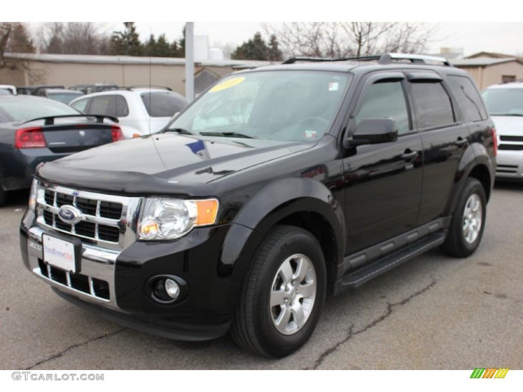 2010 black ford escape limited v6 4wd 60506866 car color galleries. Black Bedroom Furniture Sets. Home Design Ideas