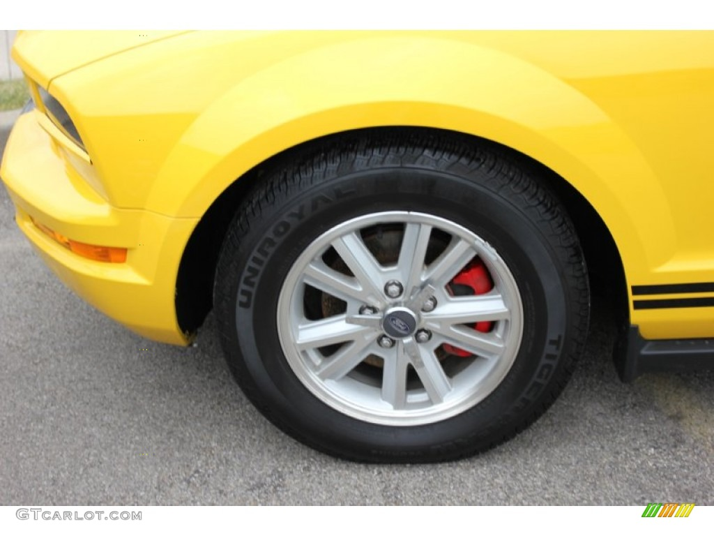 2006 Ford Mustang V6 Premium Coupe Wheel Photo #60540304