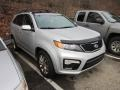 2011 Bright Silver Kia Sorento SX V6 AWD  photo #1