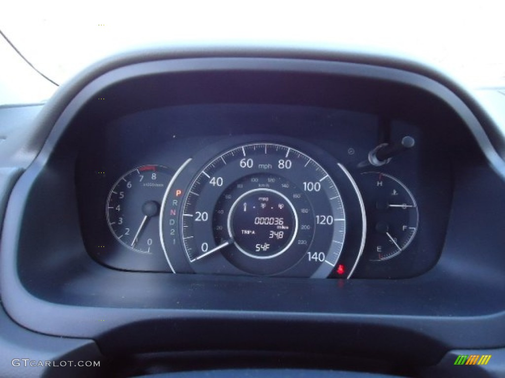 2012 Honda CR-V EX-L 4WD Gauges Photo #60545848