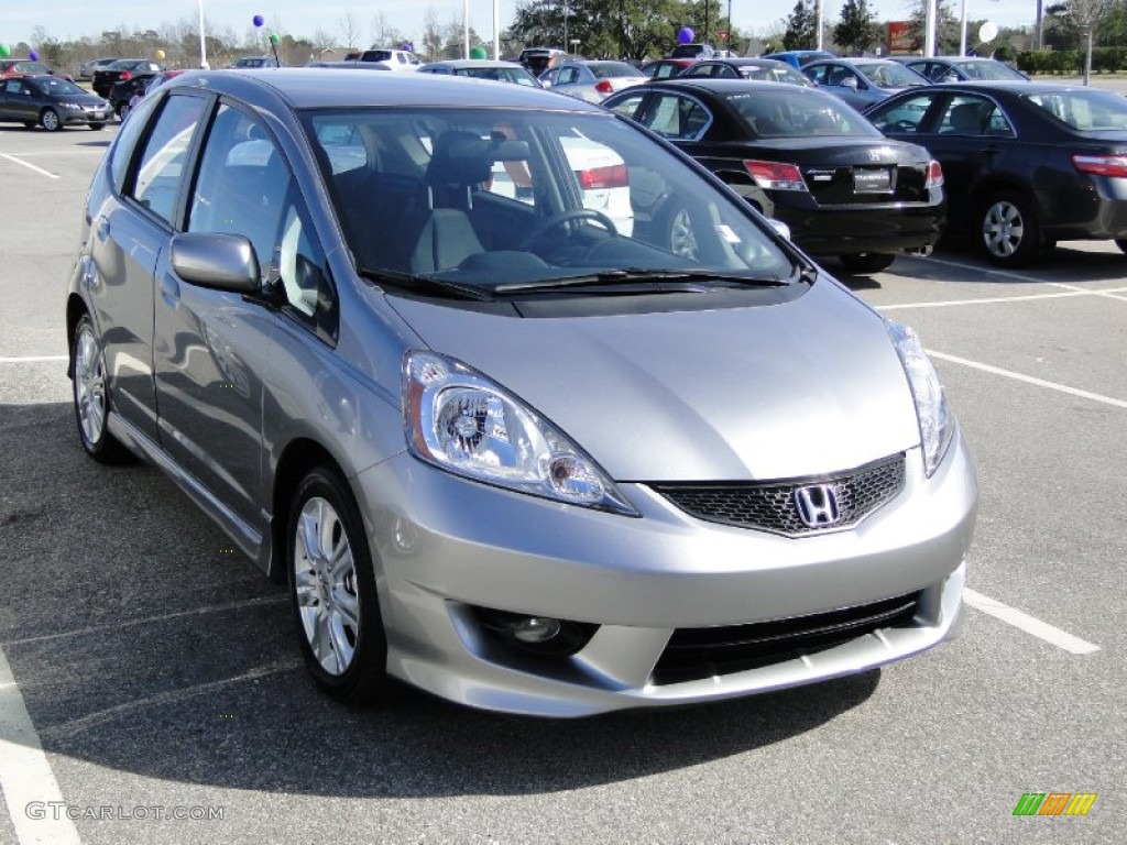 Storm Silver Metallic 2009 Honda Fit Sport Exterior Photo #60549376