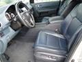 2009 Honda Pilot Blue Interior Interior Photo