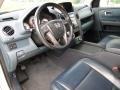 2009 Honda Pilot Blue Interior Prime Interior Photo