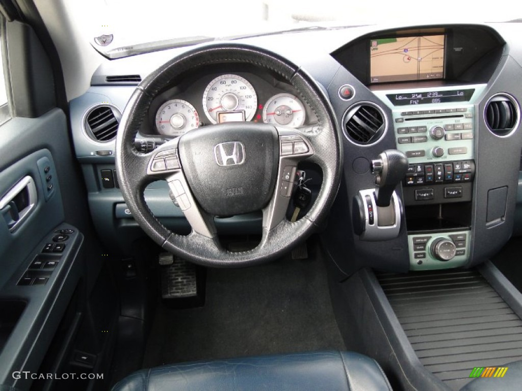 Interior Of Honda Pilot Touring
