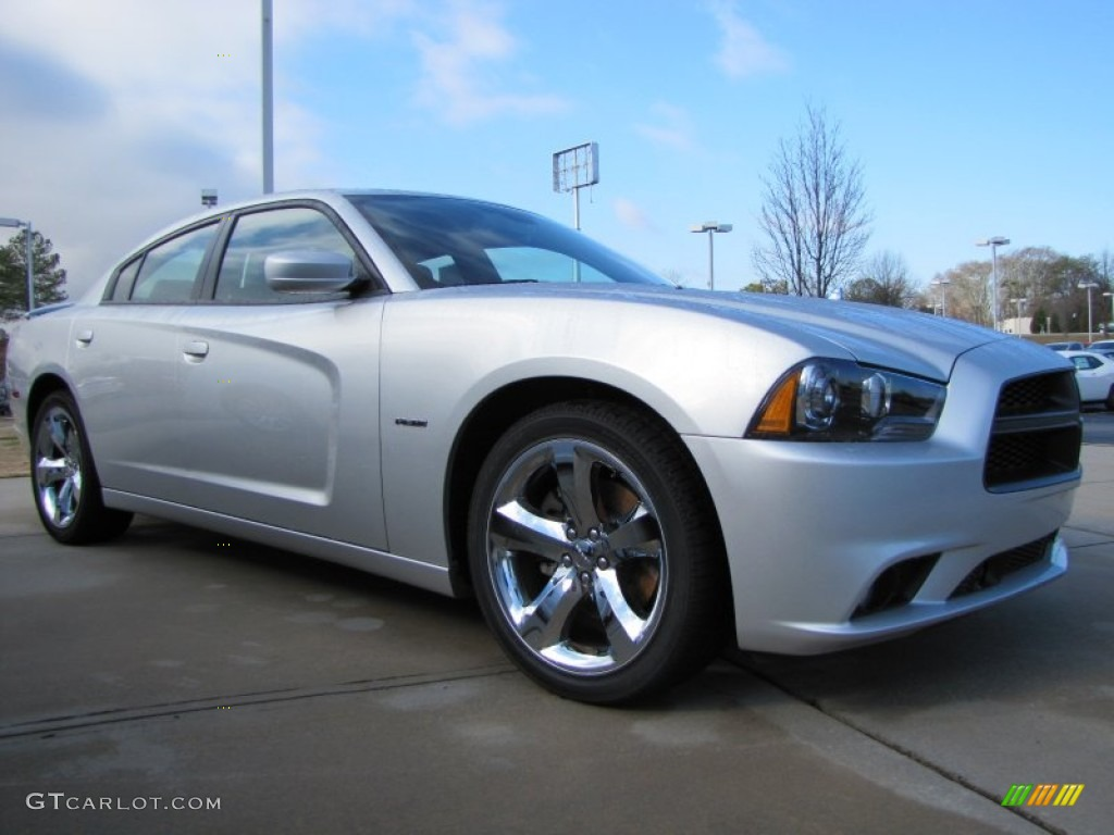 bright silver metallic 2012 dodge charger r t road and. Black Bedroom Furniture Sets. Home Design Ideas