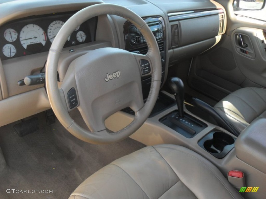 Taupe Interior 2002 Jeep Grand Cherokee Limited Photo ...
