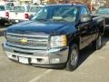 2012 Black Chevrolet Silverado 1500 LT Regular Cab  photo #1