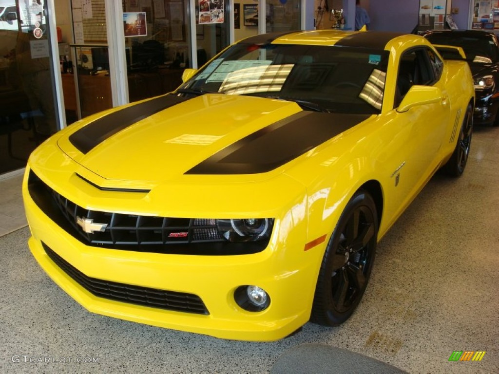 2012 rally yellow chevrolet camaro ss coupe transformers special edition 60506444 photo 4. Black Bedroom Furniture Sets. Home Design Ideas