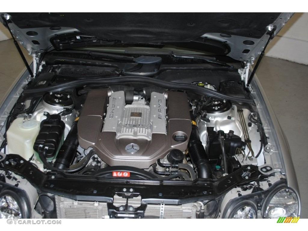 2004 mercedes benz cl 55 amg 5 4 liter amg supercharged for Mercedes benz v8 engine