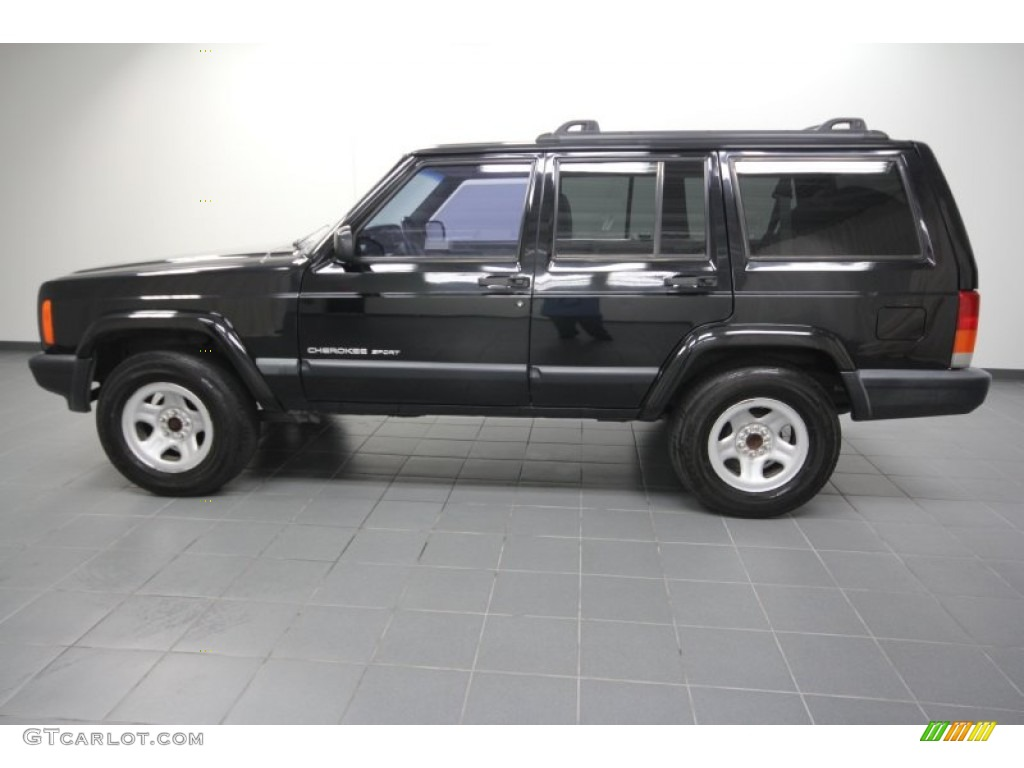 black 1999 jeep cherokee sport exterior photo #60559918 | gtcarlot