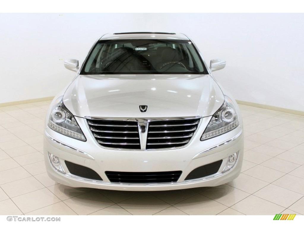 Platinum Metallic 2011 Hyundai Equus Signature Exterior