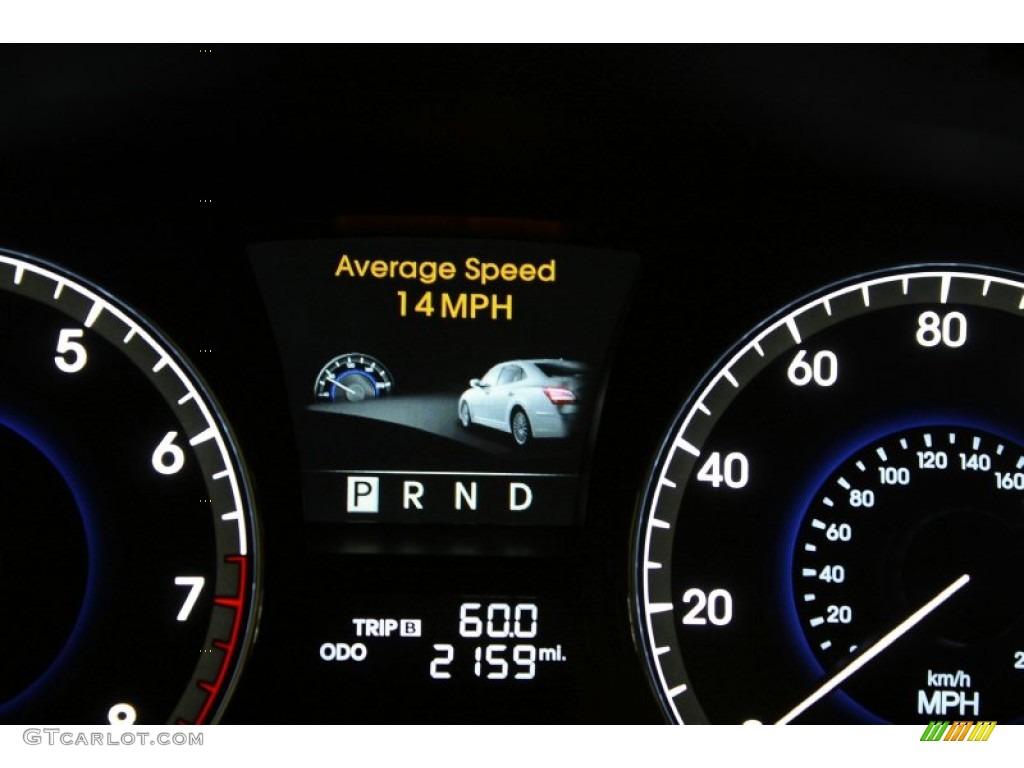 2011 Hyundai Equus Signature Gauges Photo 60564947 Gtcarlot Com