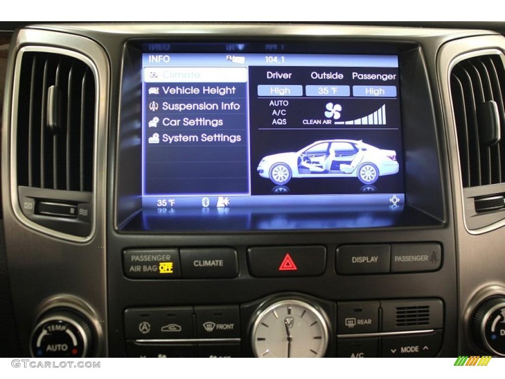 2011 Hyundai Equus Signature Controls Photo 60565061 Gtcarlot Com