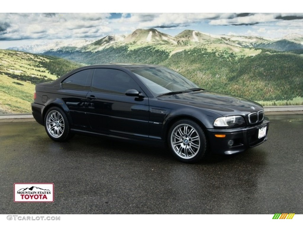 2001 carbon black metallic bmw m3 coupe 60561202. Black Bedroom Furniture Sets. Home Design Ideas