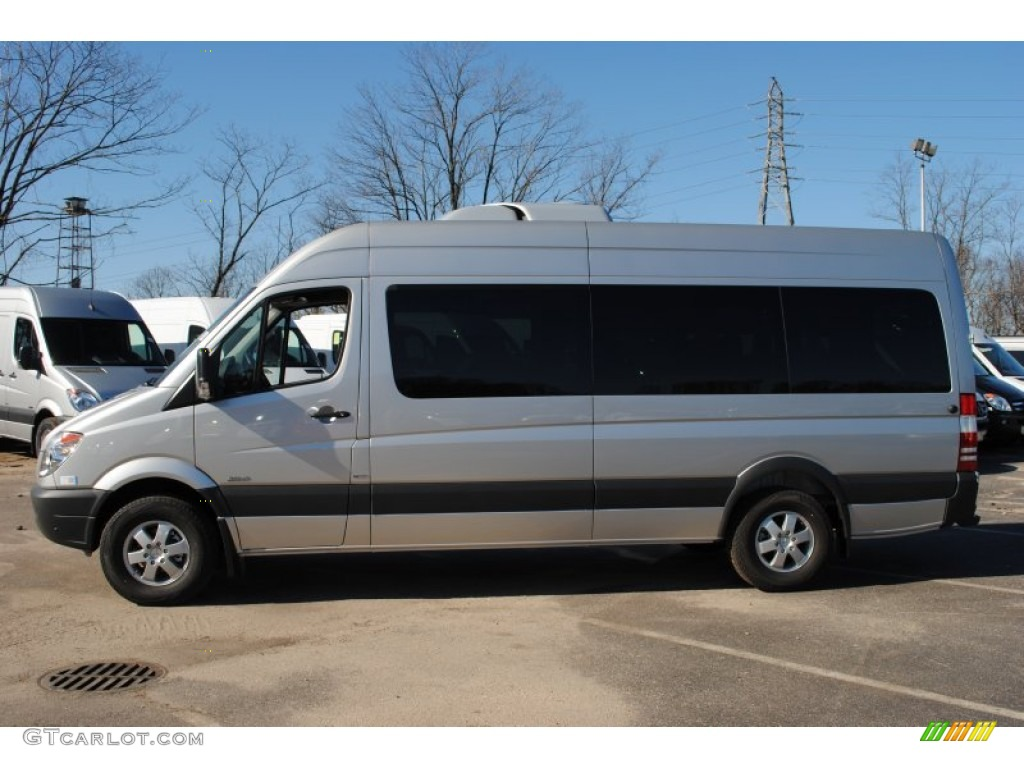 Brilliant silver metallic 2012 mercedes benz sprinter 2500 for Mercedes benz sprinter passenger