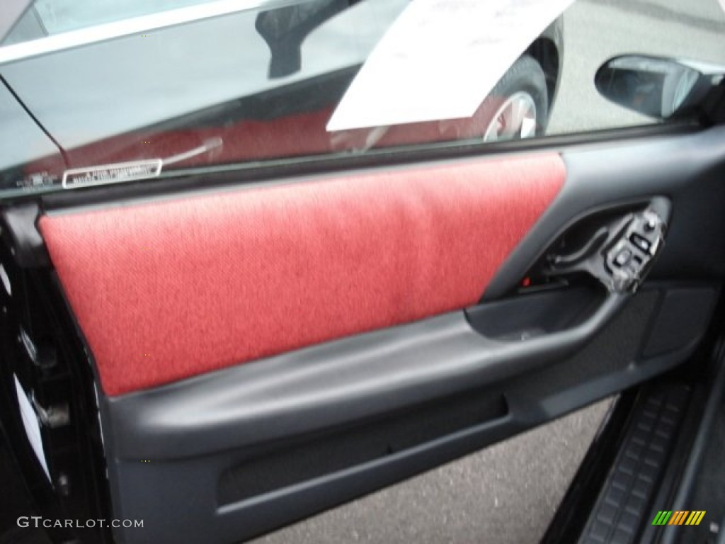 1995 chevrolet camaro coupe red door panel photo 60575227 for 1995 camaro window motor
