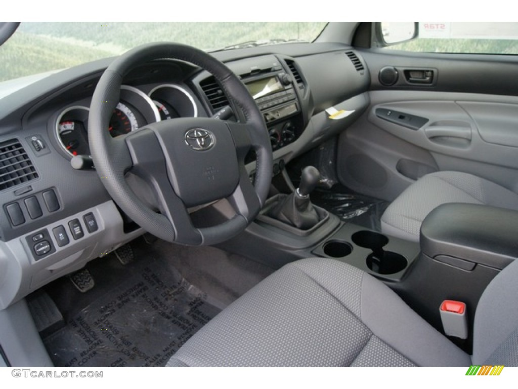 graphite interior 2012 toyota tacoma access cab 4x4 photo. Black Bedroom Furniture Sets. Home Design Ideas