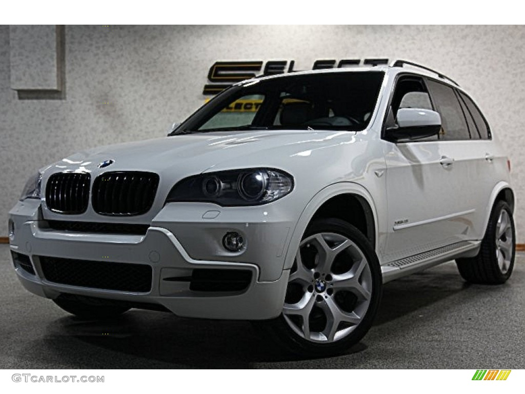 2009 alpine white bmw x5 xdrive48i 60561464 car color galleries. Black Bedroom Furniture Sets. Home Design Ideas
