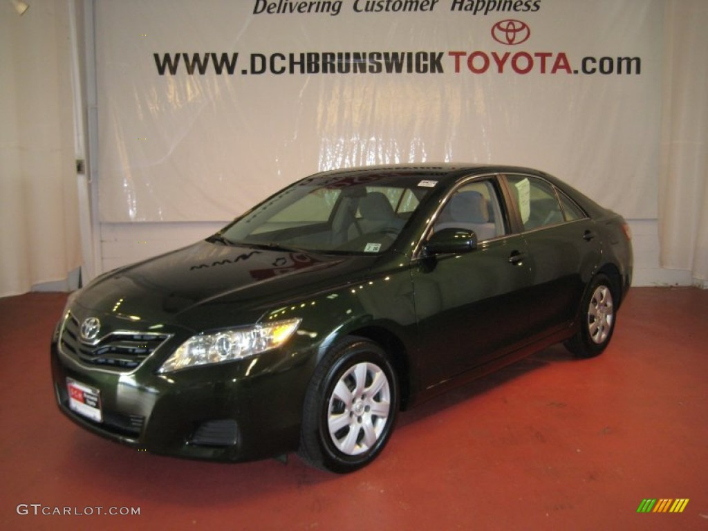 Spruce Green Mica Toyota Camry