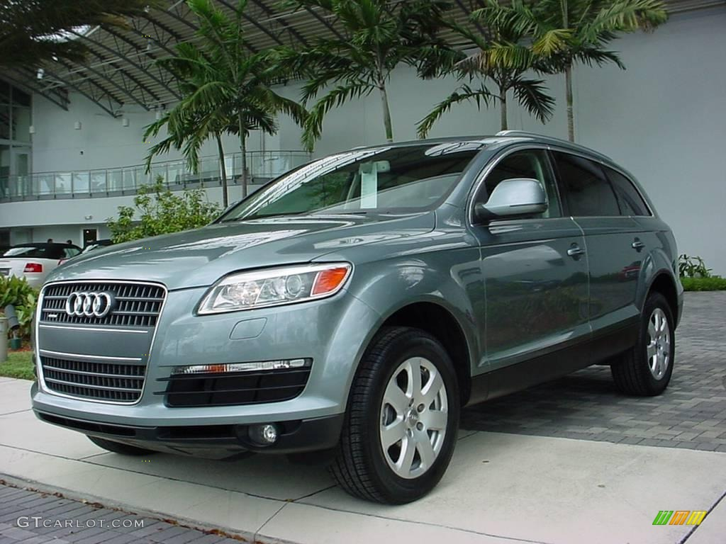 2007 condor grey metallic audi q7 3 6 premium quattro 6039608 car color galleries. Black Bedroom Furniture Sets. Home Design Ideas