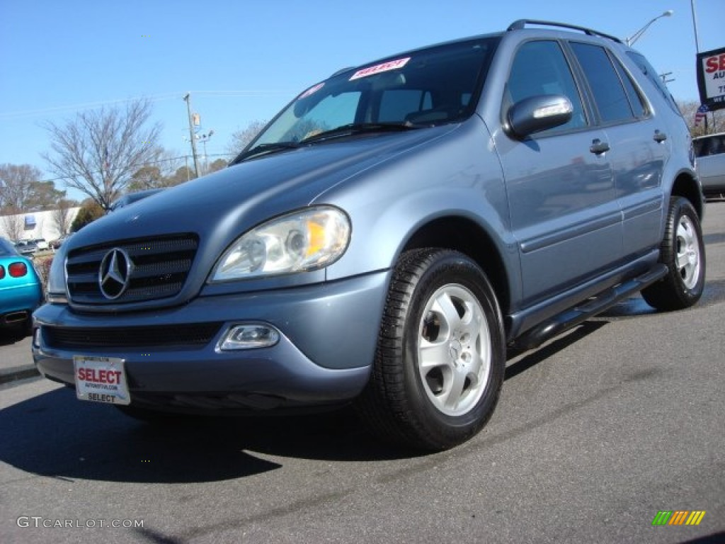 2004 platinum blue metallic mercedes benz ml 350 4matic for 2004 mercedes benz g class
