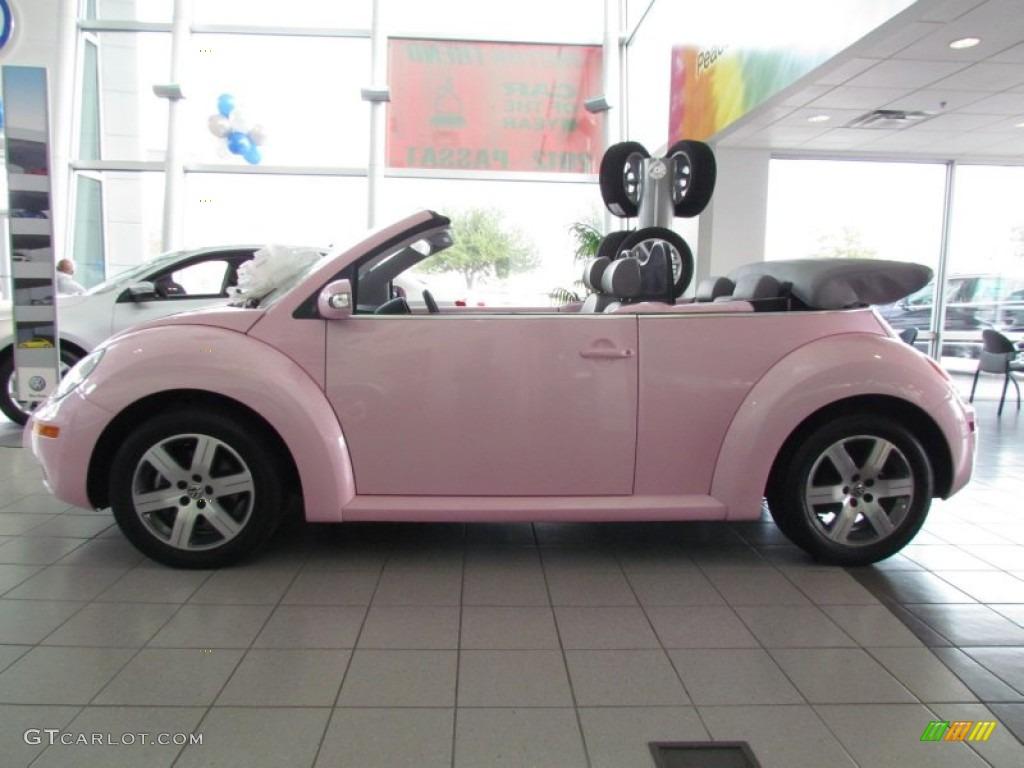 2006 Custom Pink Volkswagen New Beetle 2 5 Convertible
