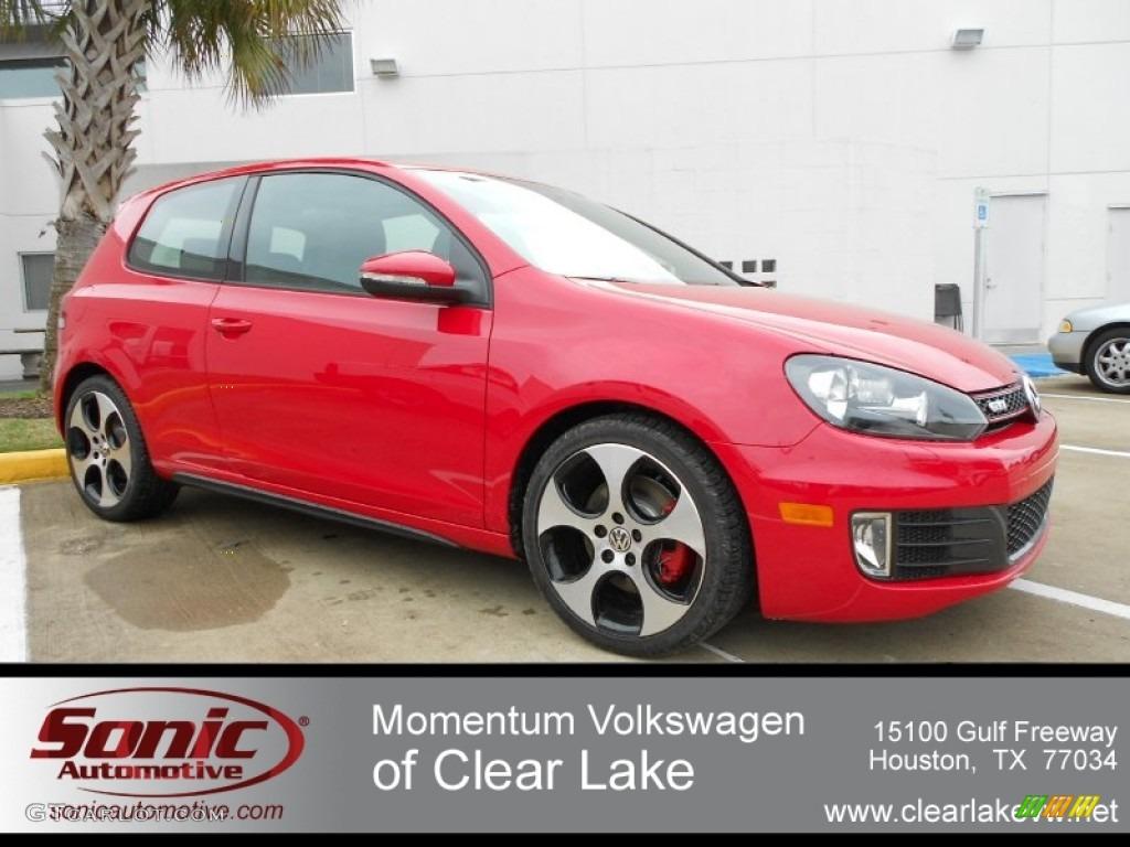 2006 Volkswagen Gti 2.0t Specs >> 2012 Tornado Red Volkswagen GTI 2 Door #60562016 Photo #4   GTCarLot.com - Car Color Galleries