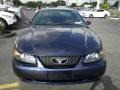 2003 True Blue Metallic Ford Mustang V6 Coupe  photo #4