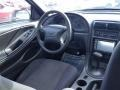 2003 True Blue Metallic Ford Mustang V6 Coupe  photo #14