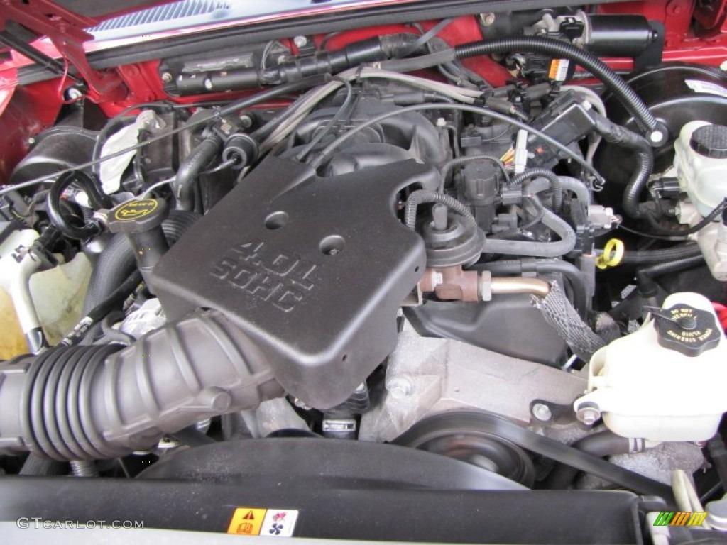 2005 Ford Explorer Sport Trac XLT 4.0 Liter SOHC 12 Valve ...