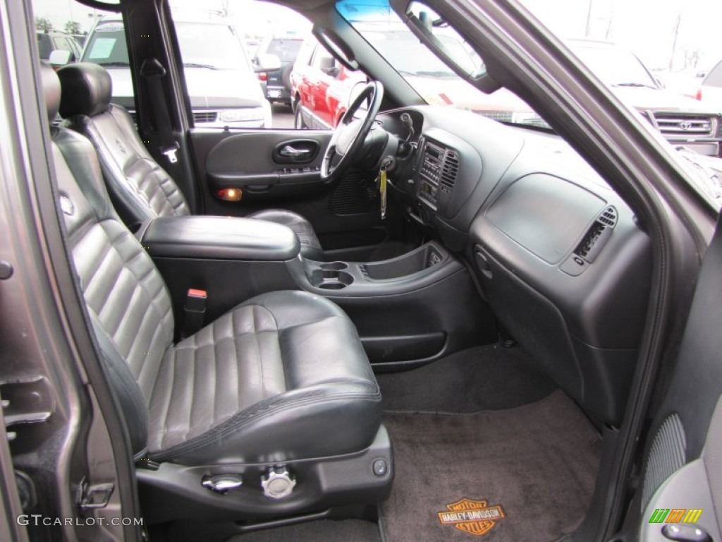 black grey interior 2002 ford f150 harley davidson supercrew photo 60612302