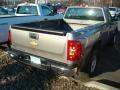 2012 Graystone Metallic Chevrolet Silverado 1500 Work Truck Regular Cab 4x4  photo #2