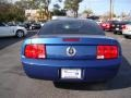 2007 Vista Blue Metallic Ford Mustang V6 Deluxe Coupe  photo #7