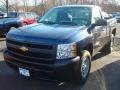 2012 Imperial Blue Metallic Chevrolet Silverado 1500 Work Truck Regular Cab 4x4  photo #1