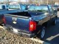 2012 Imperial Blue Metallic Chevrolet Silverado 1500 Work Truck Regular Cab 4x4  photo #2