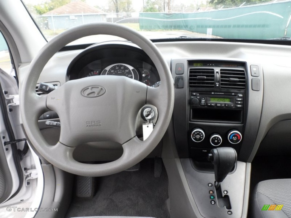 2007 Hyundai Tucson Gls Gray Dashboard Photo 60620286