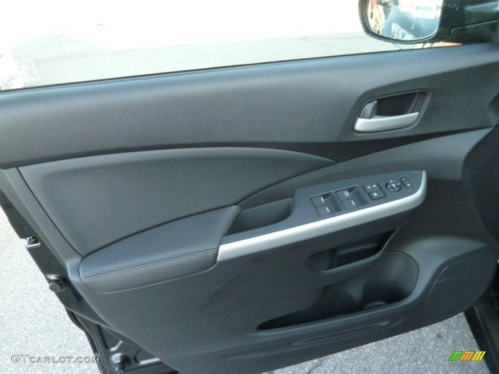 2012 Honda CR-V EX-L 4WD Black Door Panel Photo #60621626