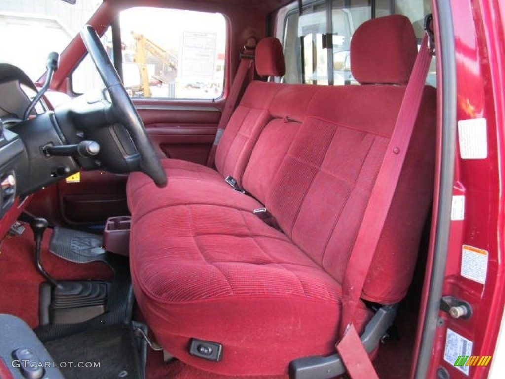 1995 Ford F150 Xlt Regular Cab 4x4 Interior Photos