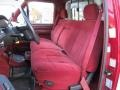 Red 1995 Ford F150 Interiors