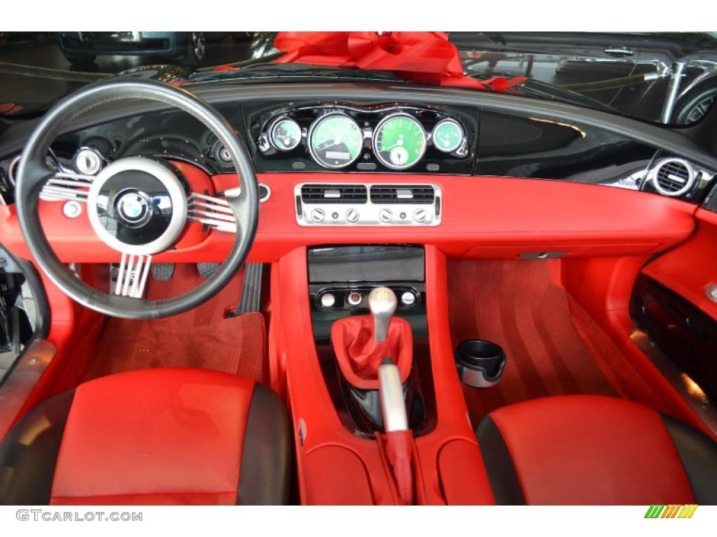 2001 Bmw Z8 Roadster Red Black Dashboard Photo 60627843