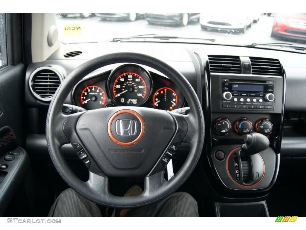2007 Honda Element Sc Black Copper Dashboard Photo
