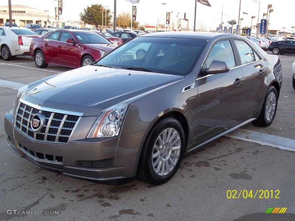 2012 Mocha Steel Metallic Cadillac Cts 3 0 Sedan 60624844