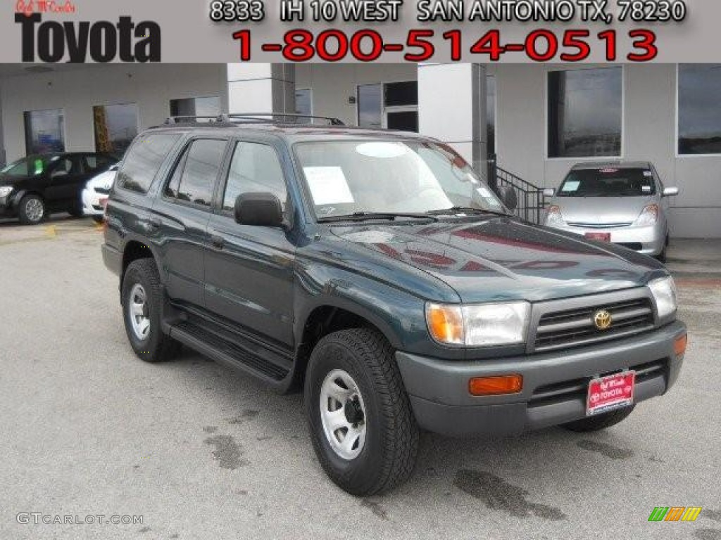 1997 evergreen pearl metallic toyota 4runner sr5 60624671 car color galleries. Black Bedroom Furniture Sets. Home Design Ideas