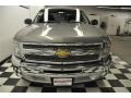 2012 Graystone Metallic Chevrolet Silverado 1500 LS Extended Cab  photo #4