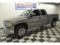 2012 Graystone Metallic Chevrolet Silverado 1500 LS Extended Cab  photo #23