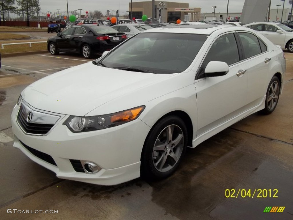 2012 bellanova white pearl acura tsx special edition sedan. Black Bedroom Furniture Sets. Home Design Ideas